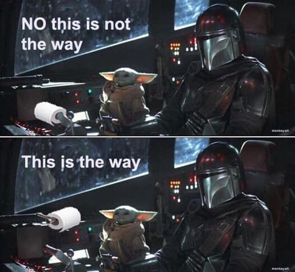 Baby Yoda Memes - The Way with the Mandalorian