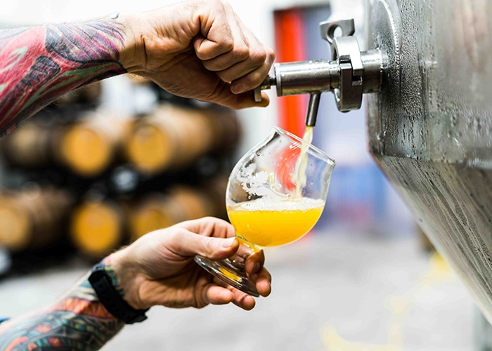 Breweries in Portland Maine social