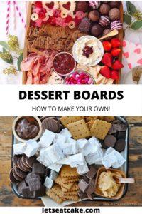 Dessert Charcuterie Boards