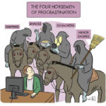 Working From Home Memes - Four Horsemen