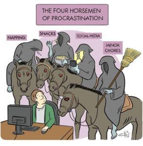 Working From Home Memes - Four Horsemen