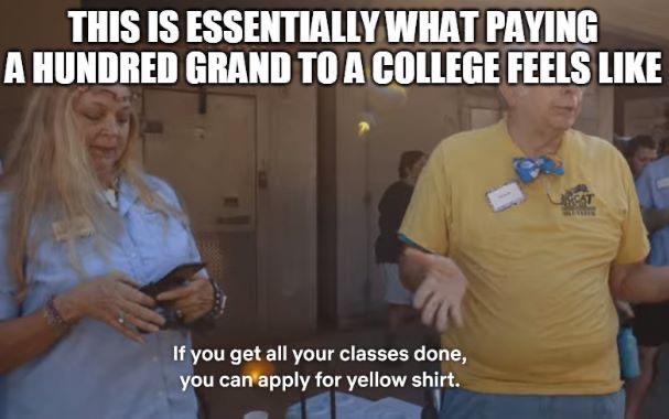 tiger king memes college