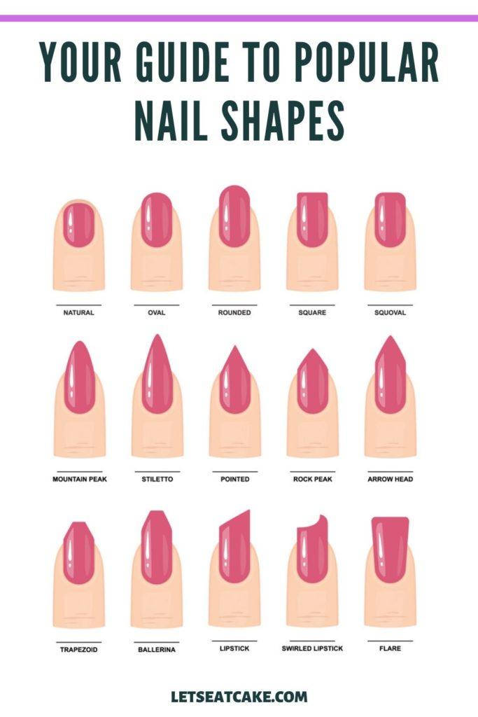 Almond Nails - Nail Shapes