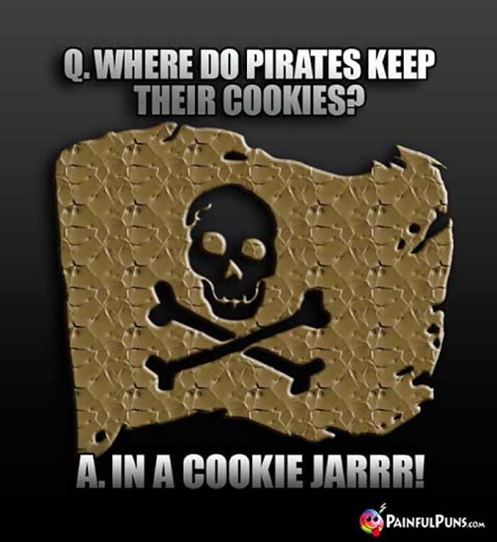 Cookie Puns - Pirate