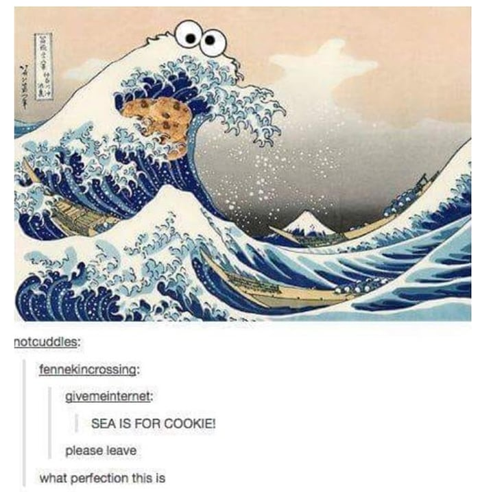 Cookie Puns - Cookie Monster Sea