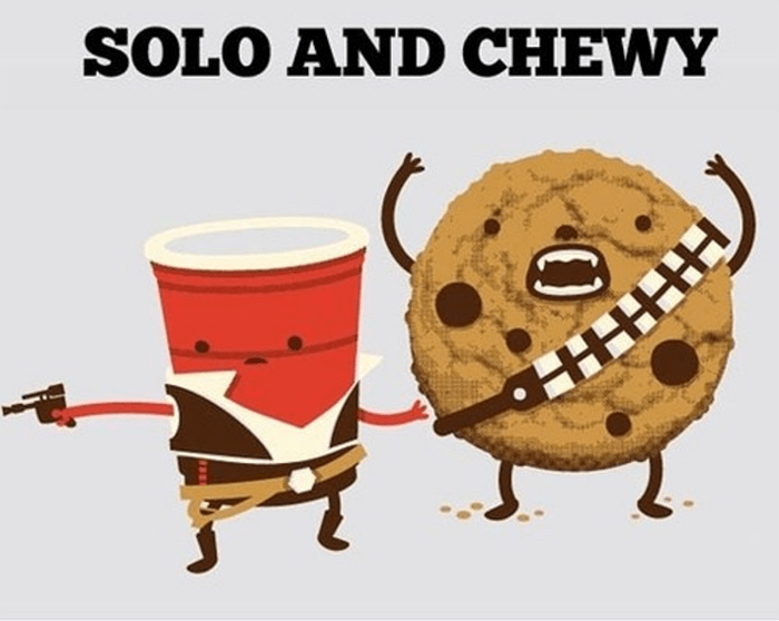 Cookie Puns - Star Wars Cookie Puns