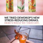 Dewdrop can - stress relief