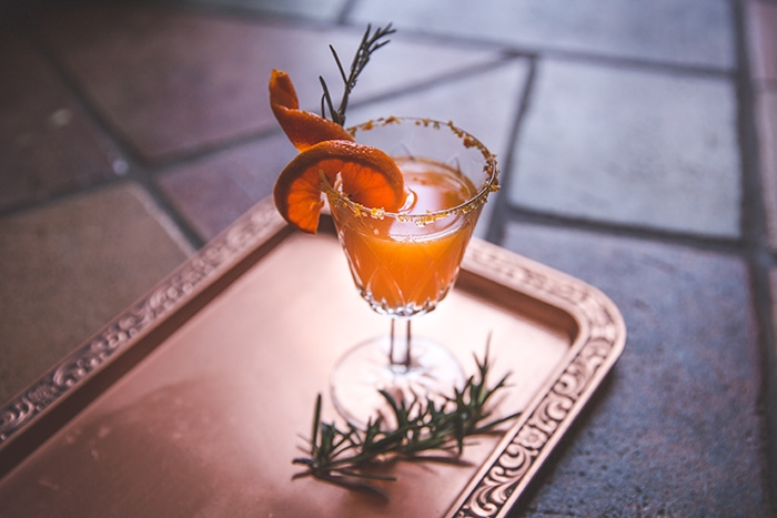 Dewdrop orange cocktail