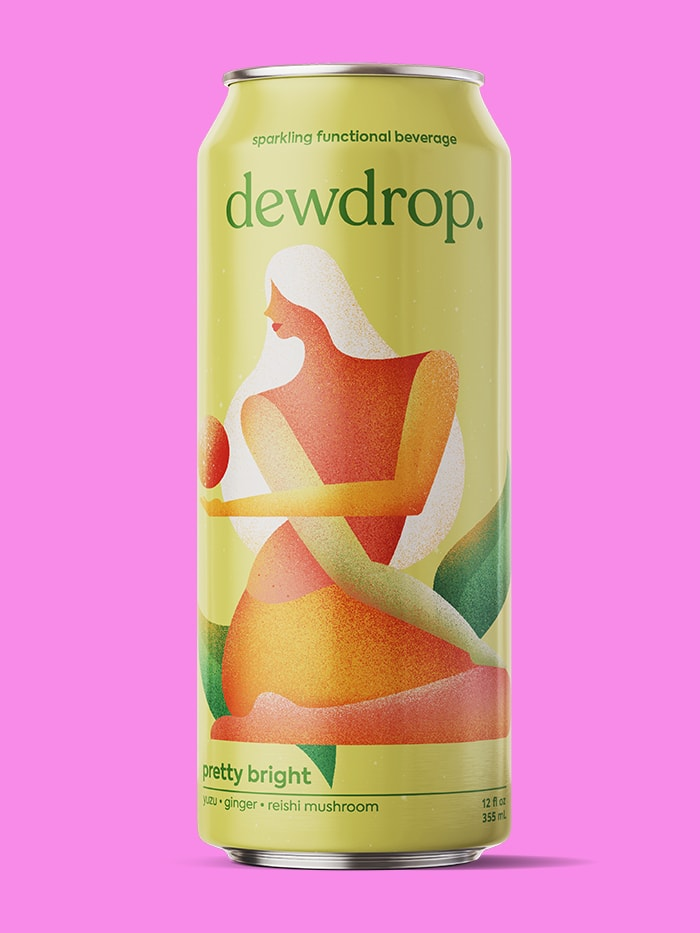 Dewdrop pretty bright