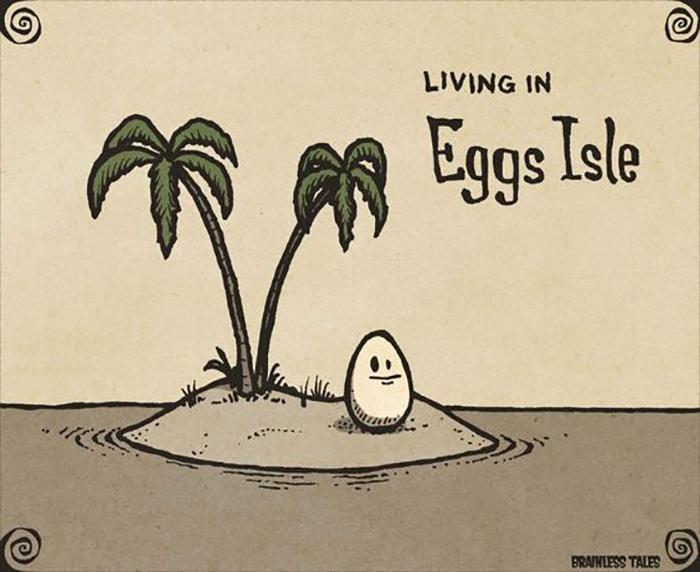 Egg Puns - eggisle