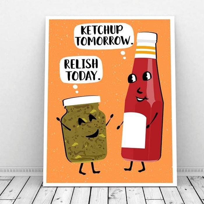 BBQ Puns - Relish Today Ketchup Tomorrow