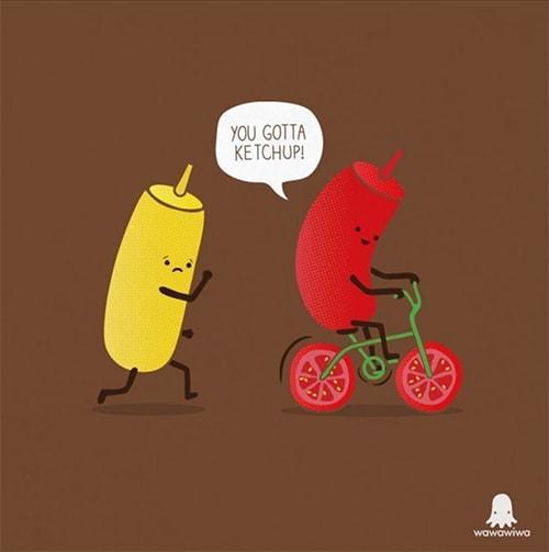 BBQ Puns - Ketchup