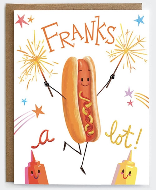 BBQ Puns - Franks a Lot