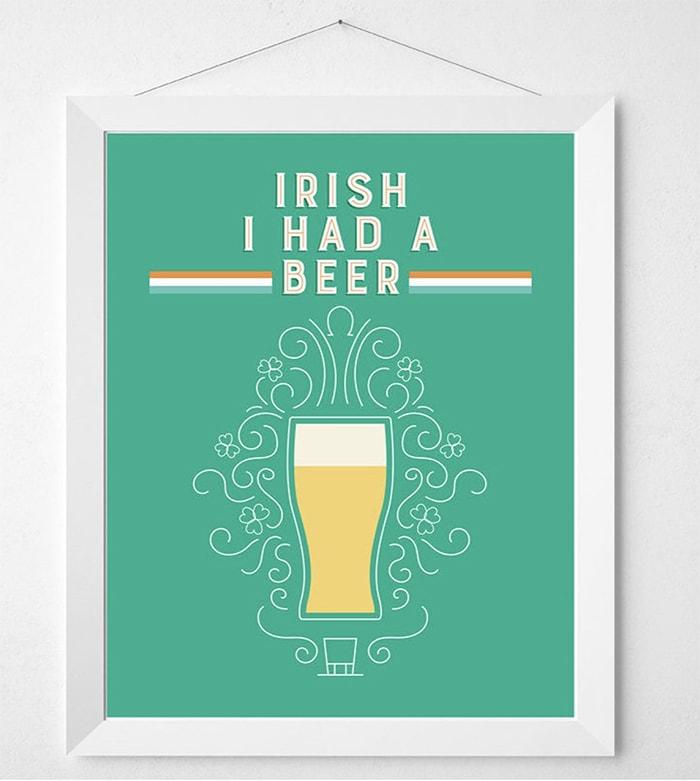 Beer Puns - Irish