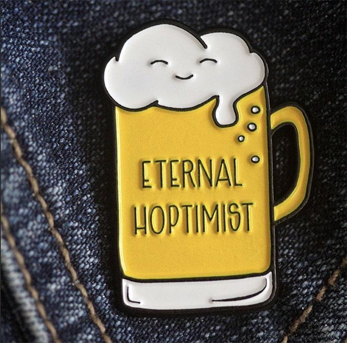 Beer Puns - Eternal Hoptimist