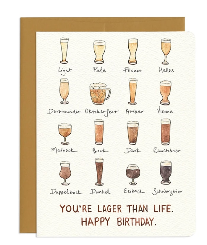 Beer Puns - Lager Than Life