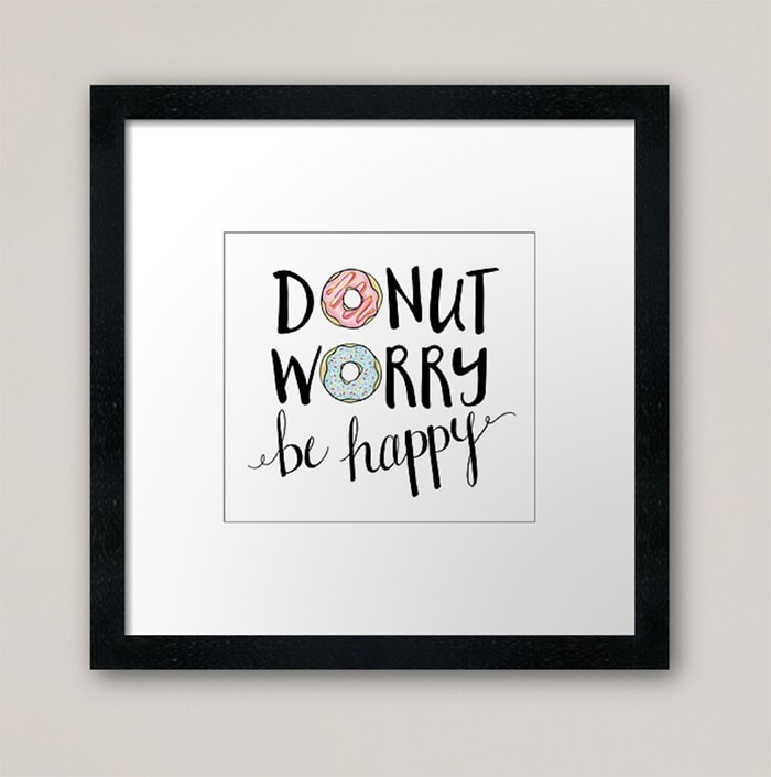 Donut Puns - Donut Worry Be Happy