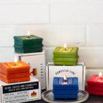Dumpster Fire Candles Pin