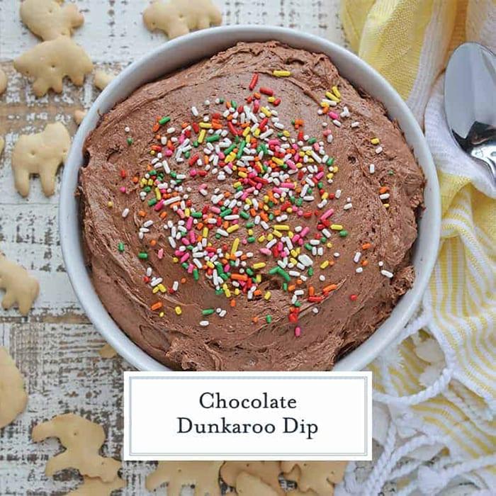 Dunkaroos Recipe - Chocolate Dunkaroo Dip