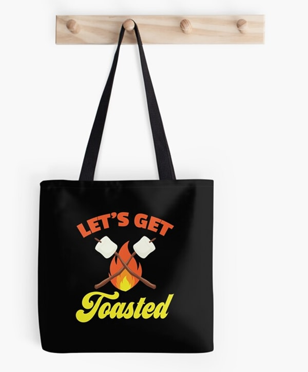 Smores Puns - Let's Get Toasted
