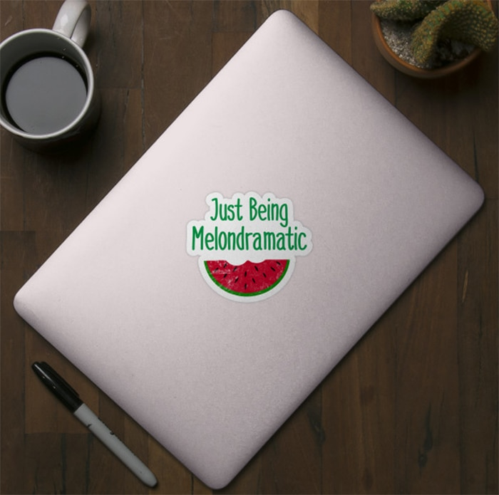 Watermelon Puns - melodramatic