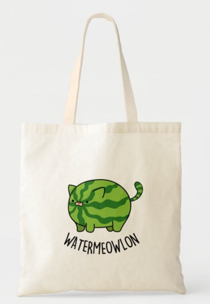 Watermelon Puns - cat