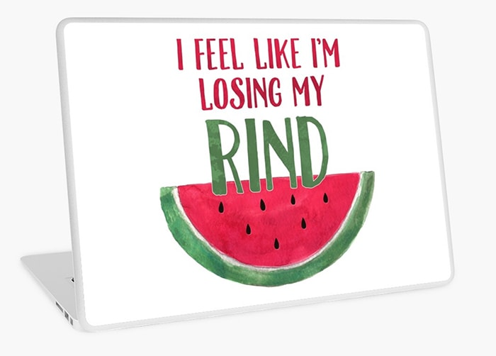 Watermelon Puns - losing my rind
