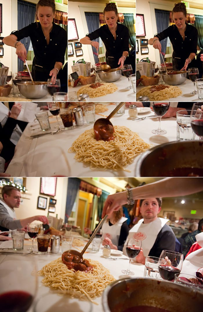 We Want Plates - pasta on table