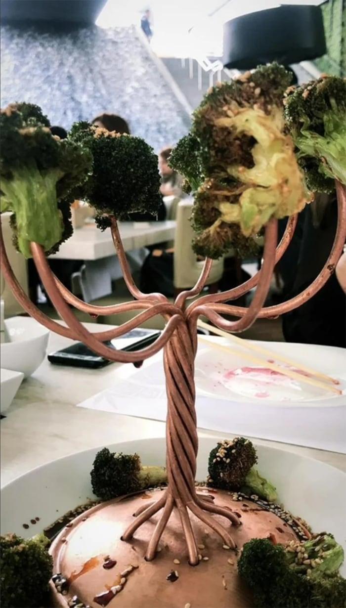 We Want Plates - broccoli tree