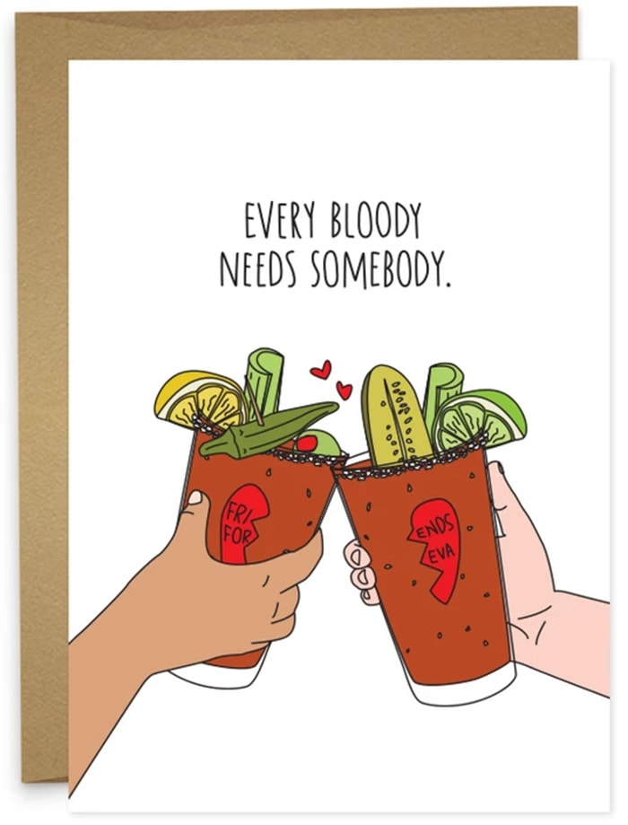 Alcohol Puns - Bloody Mary