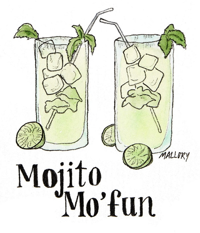 Alcohol Puns - mojitos