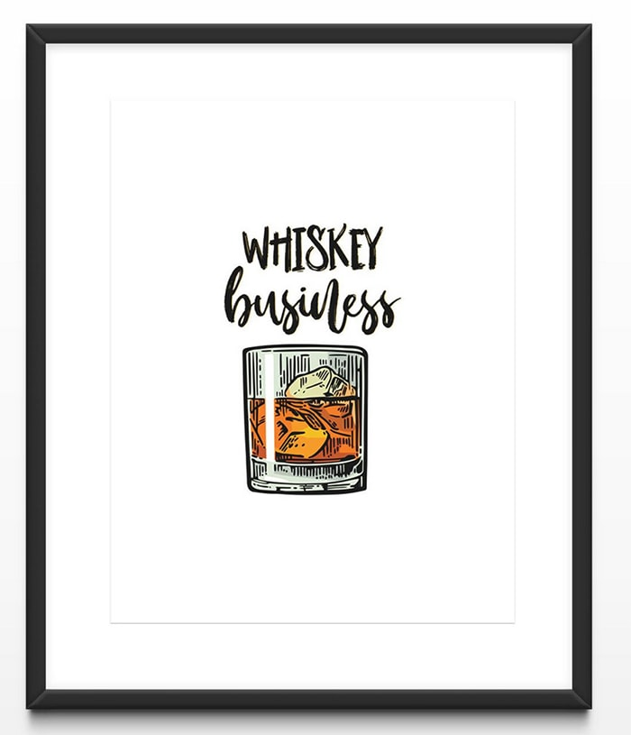 Alcohol Puns - whiskey business