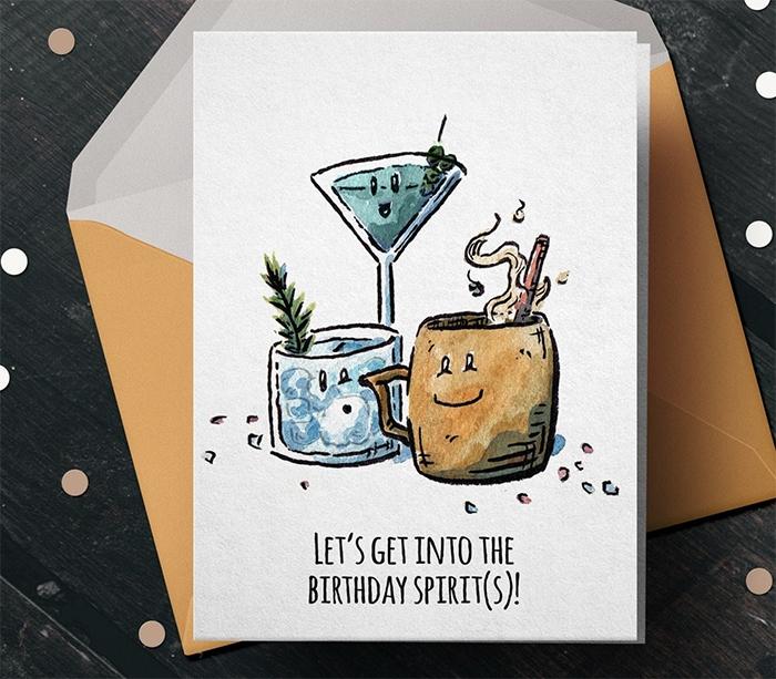 Alcohol Puns - Happy Spirits