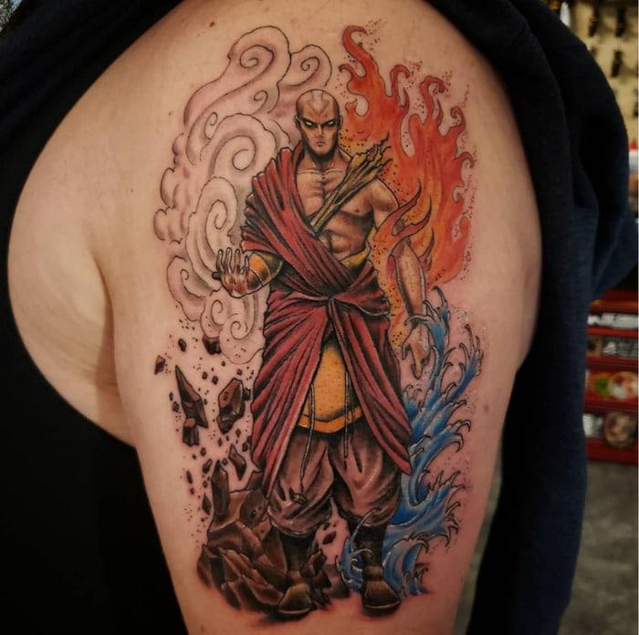 Avatar the Last Airbender Tattoos - Adult Aang