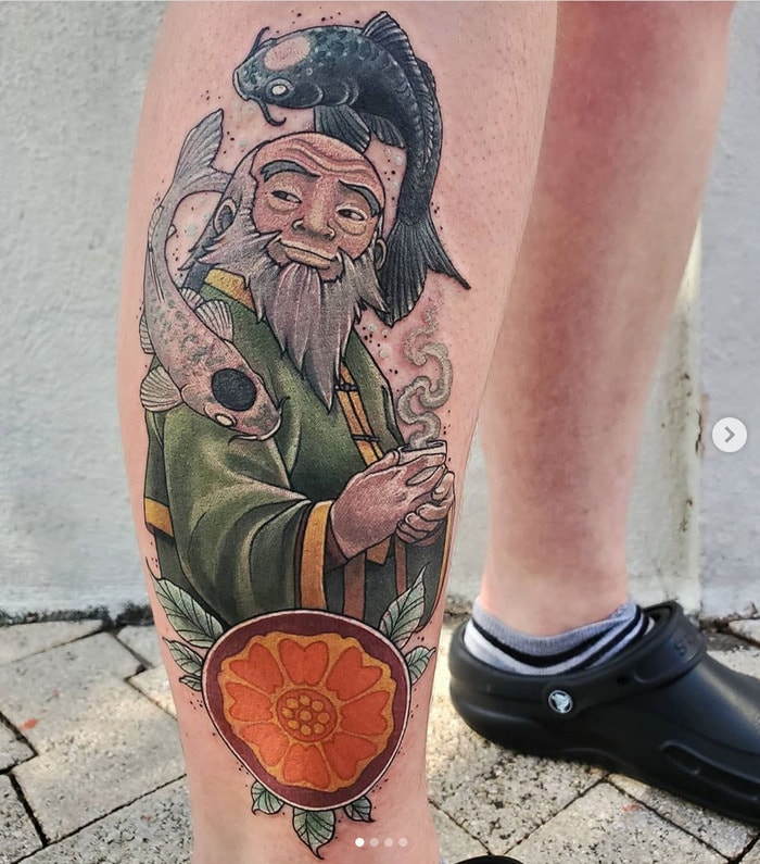 Avatar the Last Airbender Tattoos - Uncle Iroh