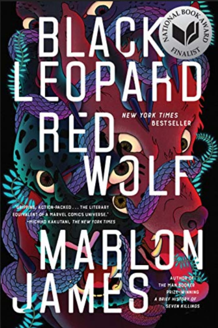 Black Science Fiction Authors and Fantasy Authors - Black Leopard Red Wolf Cover Marlon James