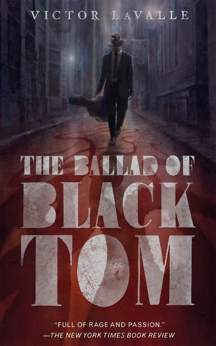 Black Science Fiction Authors and Fantasy Authors - The Ballad of Black Tom Cover Victor LaValle