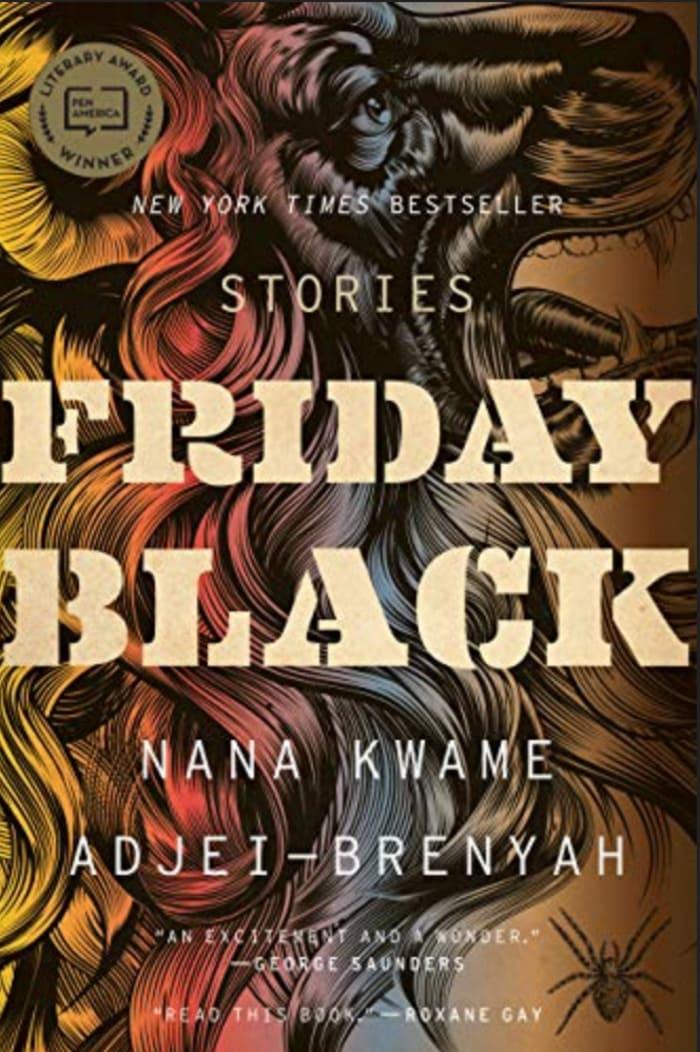 Black Science Fiction Authors and Fantasy Authors - Friday Black Cover Nana Kwame Adjei-Brenyah