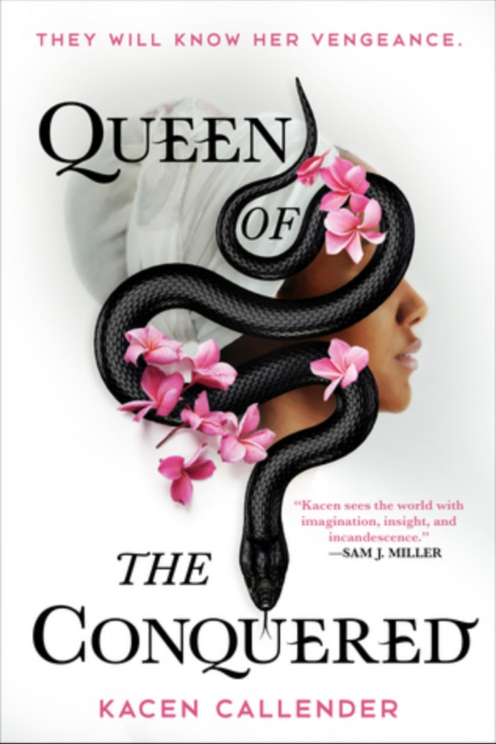 Black Science Fiction Authors and Fantasy Authors - Queen of the Conquered Cover Kacen Callender