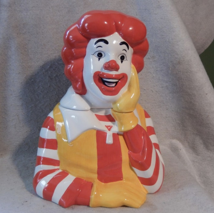 Funny Cookie Jars - Ronald McDonald