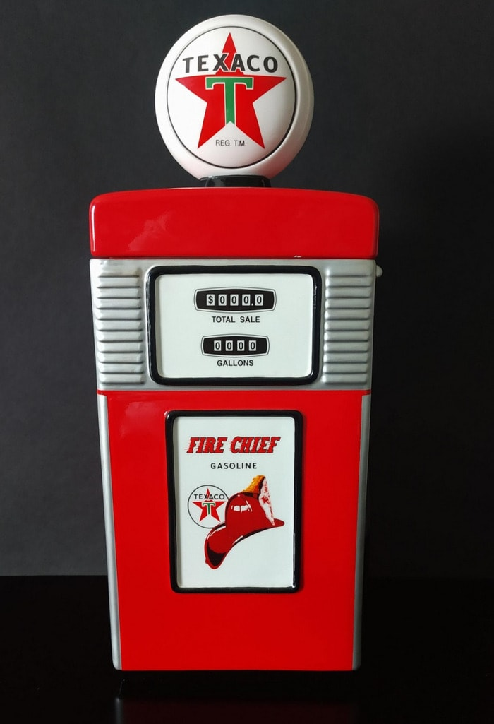 Funny Cookie Jars - Texaco