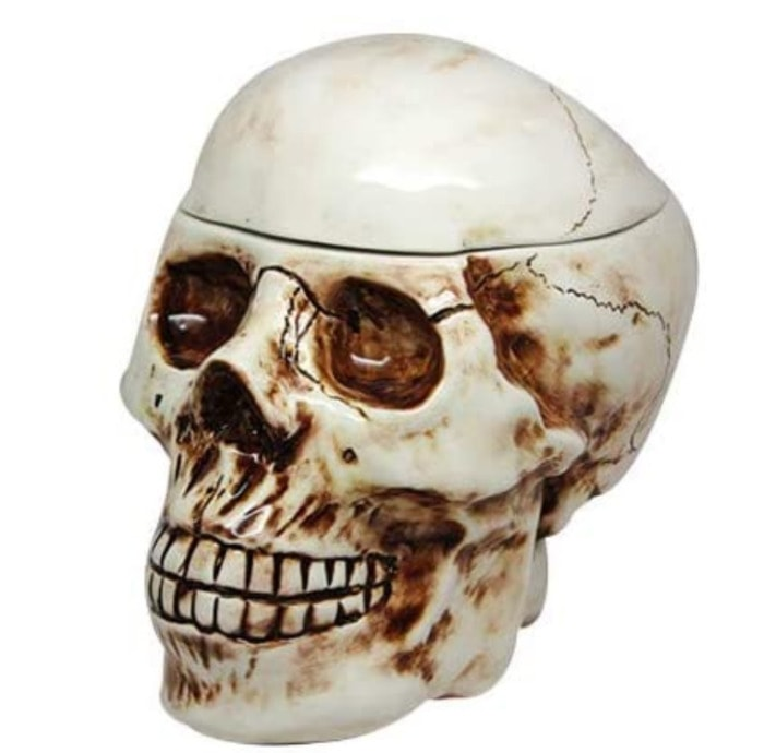 Funny Cookie Jars - Skull