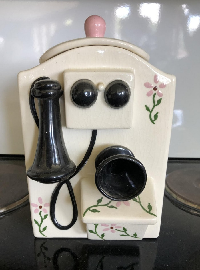 Funny Cookie Jars - Antique Phone