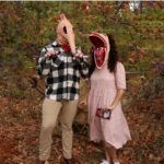 Halloween Costumes with Masks - Pin