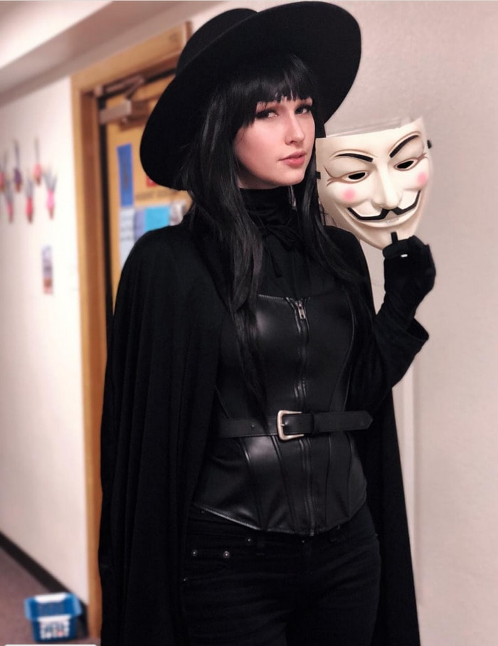 Halloween Costumes With Masks - Guy Fawkes V for Vendetta