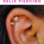 Helix Piercing Pin