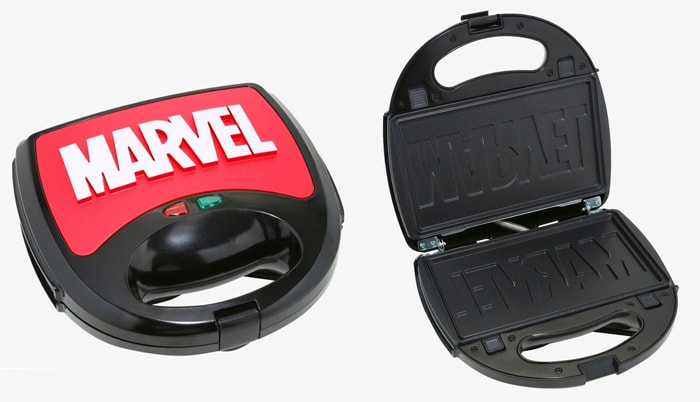 Marvel Box Lunch Eat the Universe Collection - Logo Waffle Maker