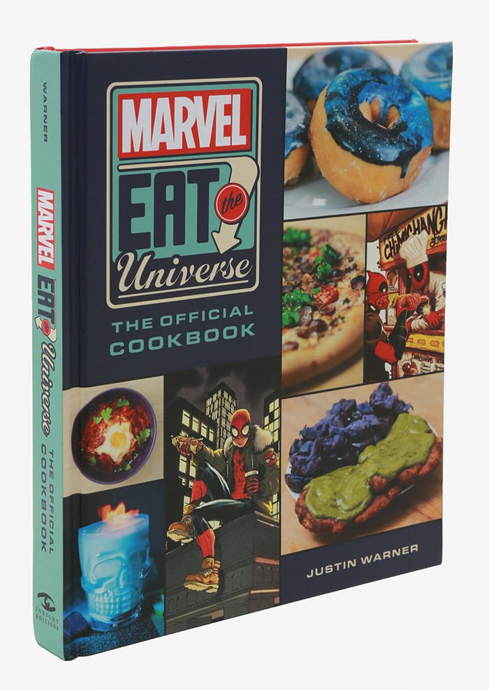 Marvel Box Lunch Eat the Universe Collection - Cookbook