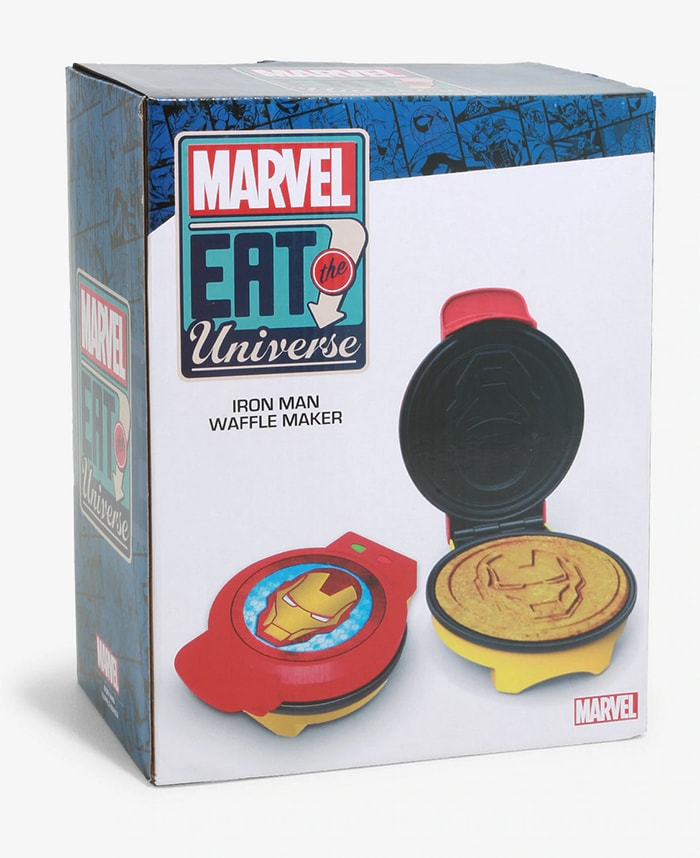 Marvel Box Lunch Eat the Universe Collection - Iron Man Waffle Maker
