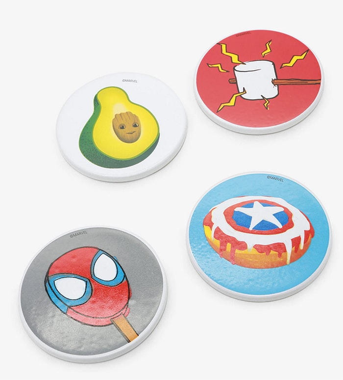 Marvel Box Lunch Eat the Universe Collection - Coasters